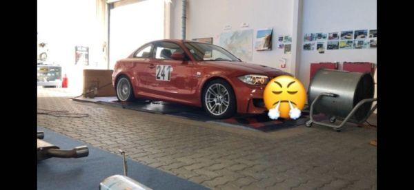 BMW 1erM auf Prüfstand