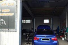 M3 blau ohne Kennzeichen neu